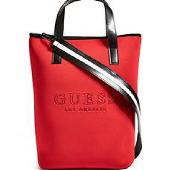 Guess Bags   Logo Laptop Tote   Poshmark 372375e576